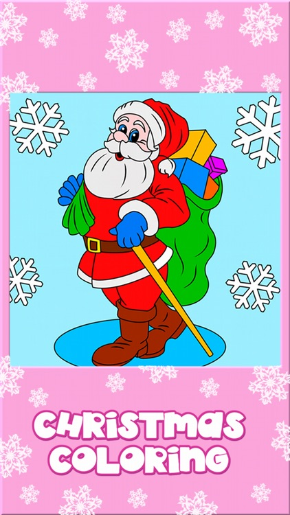 Christmas Coloring Book for Kids - Holiday Games