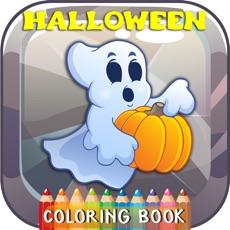 Activities of Halloween Coloring Book Free For Kids And Toddlers
