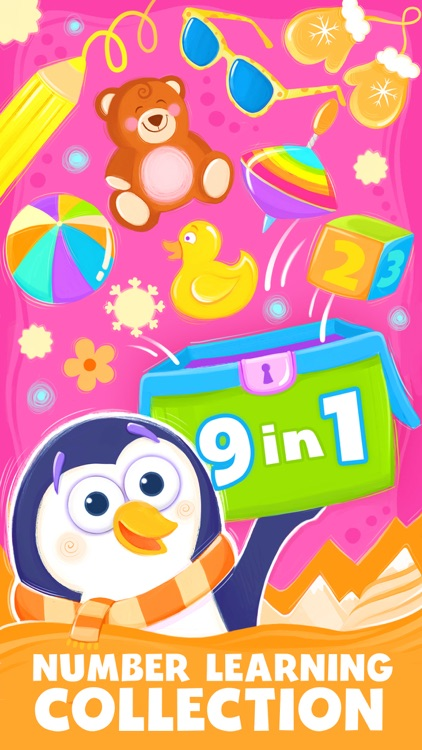 Animal Number Games for Toddlers Games for Free screenshot-0