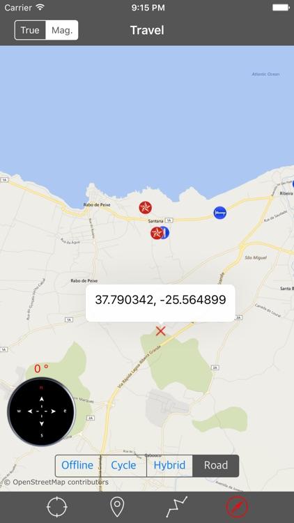 SAO MIGUEL ISLAND – GPS Travel Map Offline Navigator screenshot-4