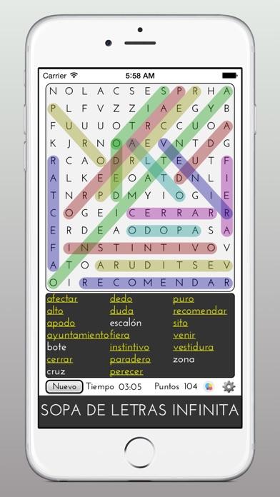 Descargar Sopa de Letras Infinita para Android