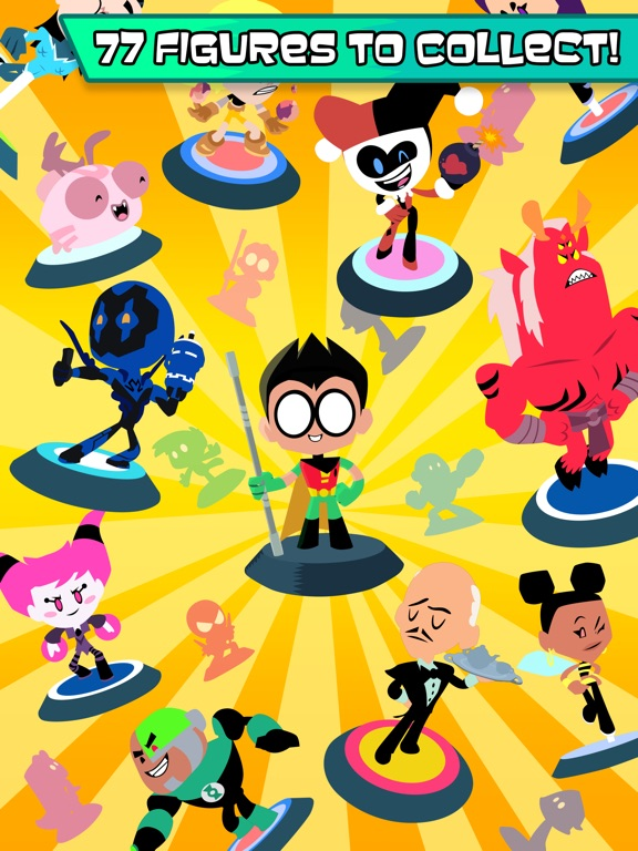 Teeny Titans tablet App screenshot 1