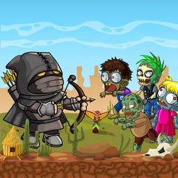 Archery VS Zombie Run Games