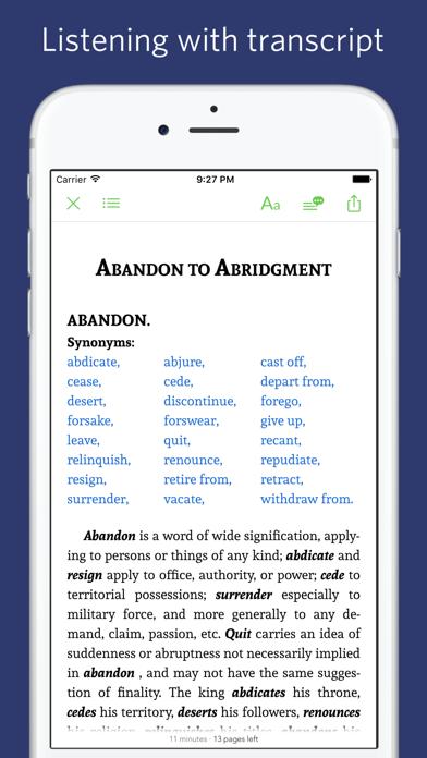 English Synonym Antonym - read aloud