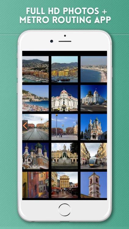 Nice Travel Guide with Offline City Street Map screenshot-4
