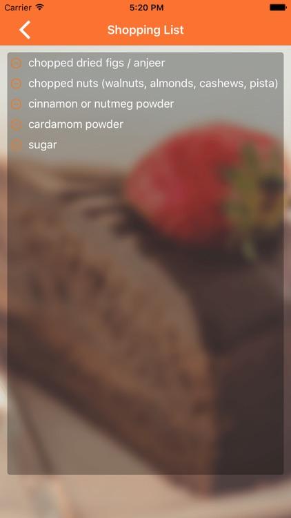 Yummy Indian Dessert Recipes screenshot-4