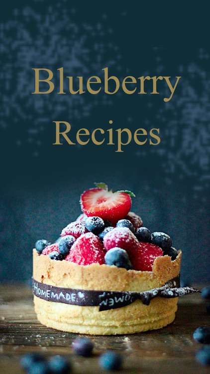Blueberry Recipes - Cake,Dessert,Muffins,Smoothie