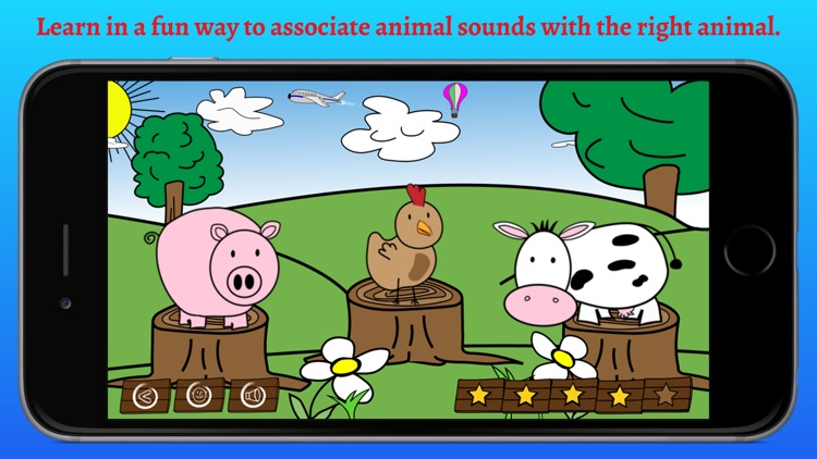 What's that sound? - Educational game for children