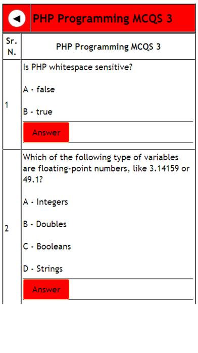 PHP programming tutorial screenshot three
