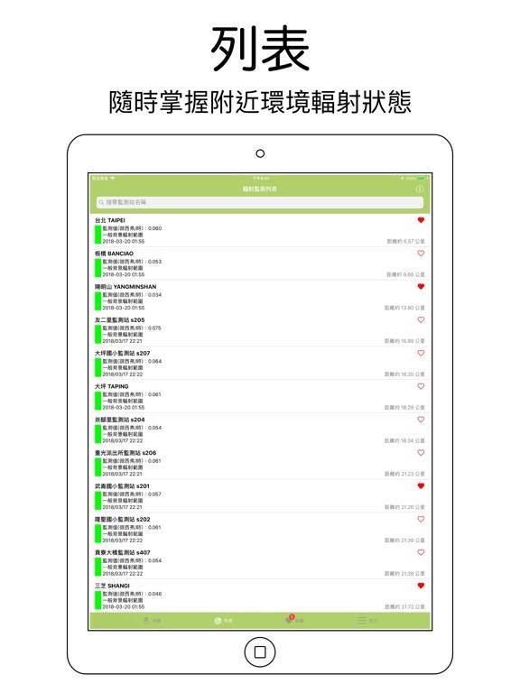 台灣環境輻射監測 screenshot 6