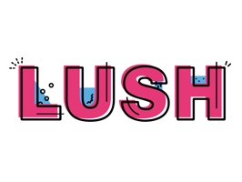 Lush Cosmetics Stickers