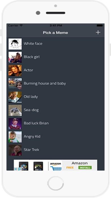 Meme Generator Kostenlose AppScreenshot von 1
