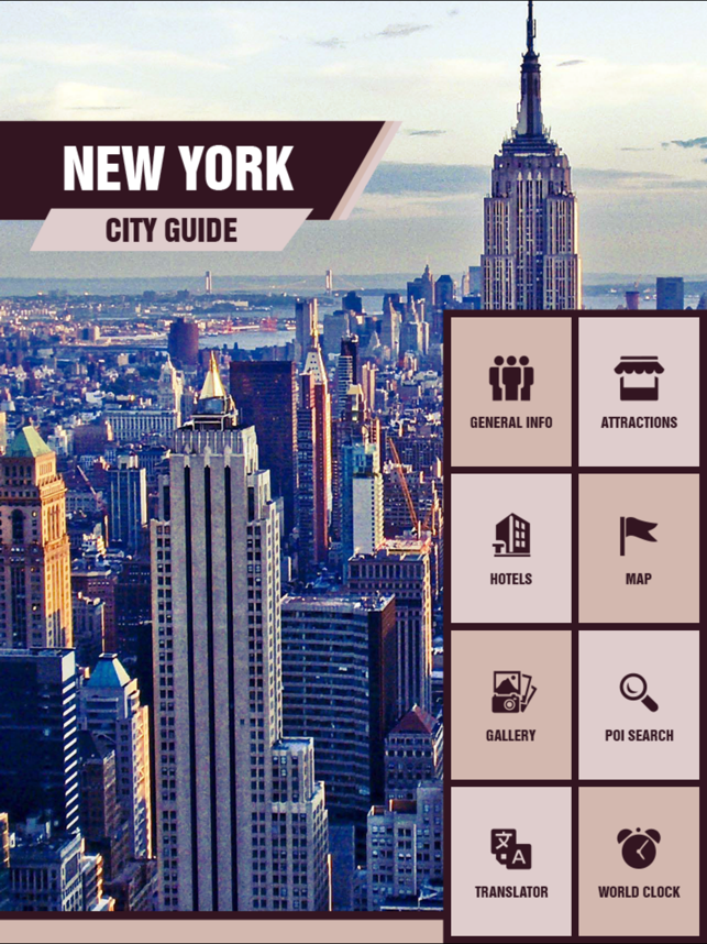 New York Tourism Guide on the App Store