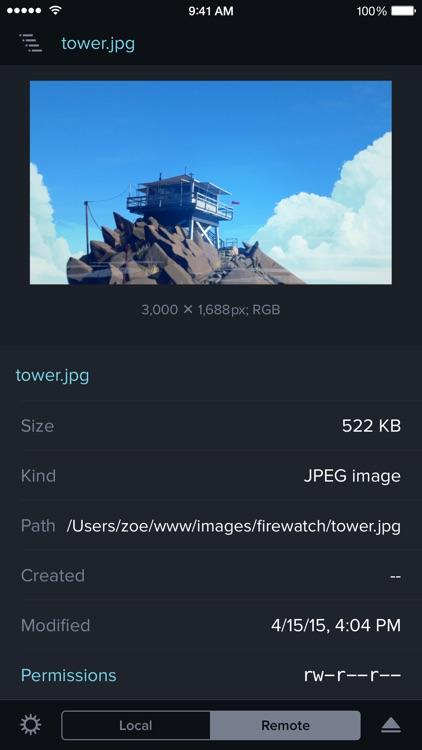 Transmit screenshot-3
