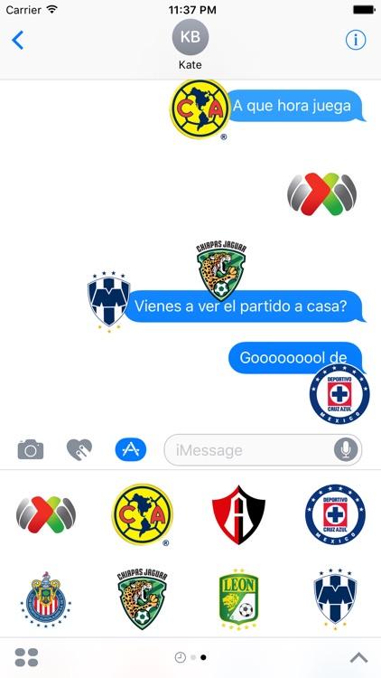 Liga Bancomer MX Sticker App Oficial