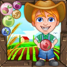 Farmer Bubble Shooter : Pop Farm Fruit Bubbles