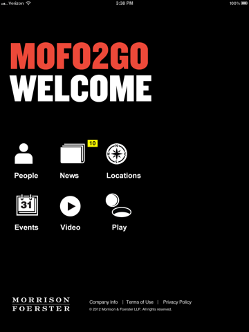 Screenshot of MoFo2Go