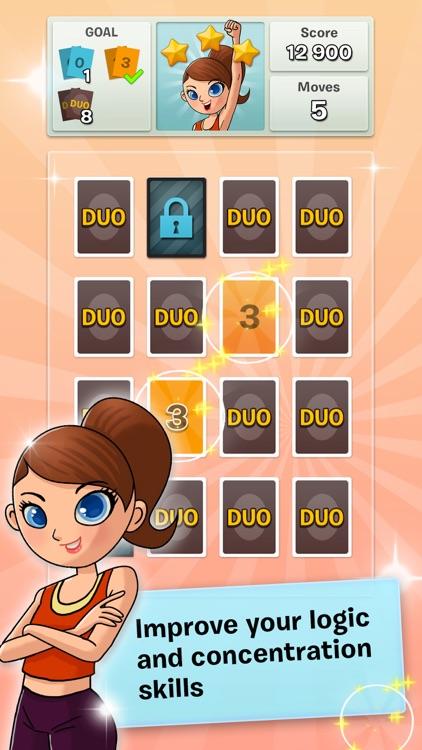 DUO! Pairs & Brain Fitness Game screenshot-0
