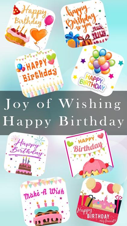 Birthday Greeting Wishes Card