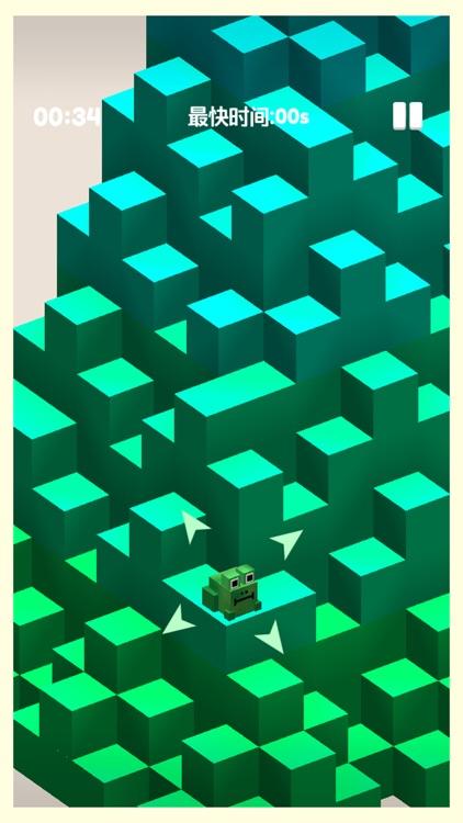 小青蛙爬山-益智游戏单机小游戏 screenshot-4