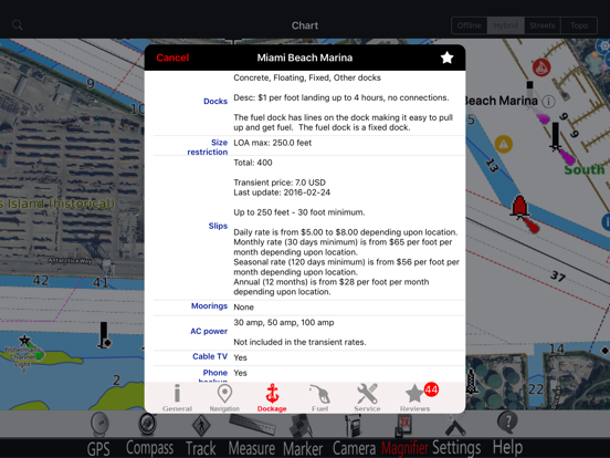 Lake Lucerne GPS Charts Pro screenshot two