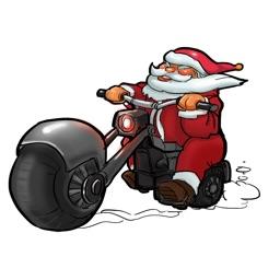 Naughty Santa Christmas Emoji