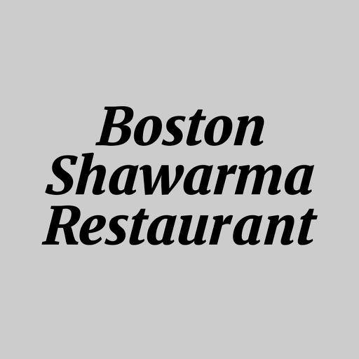 Boston Shawarma Restaurant