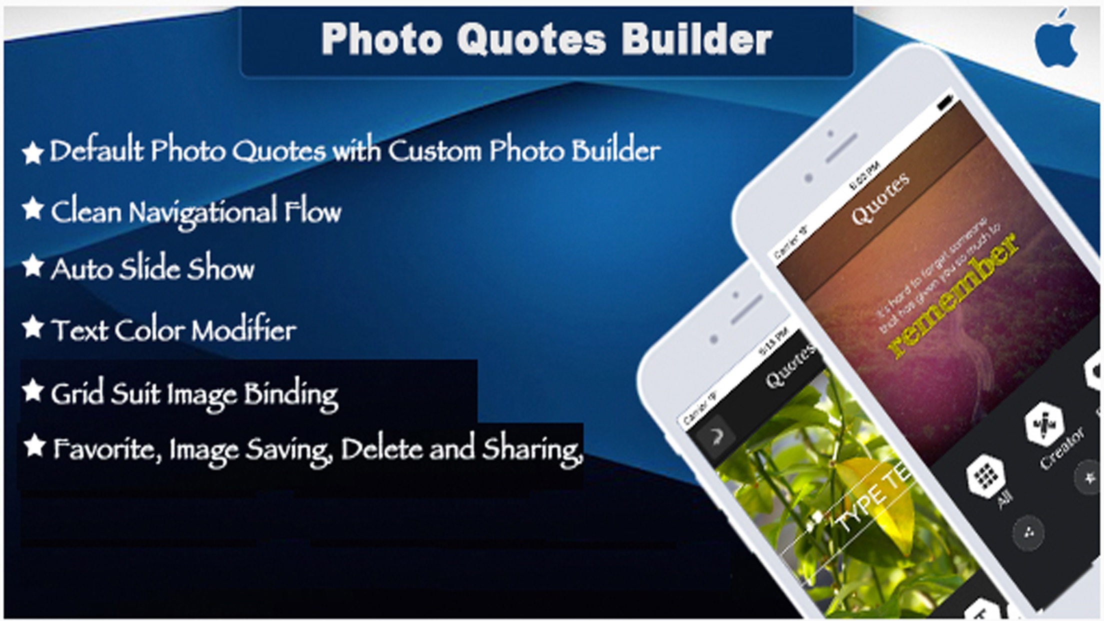 Photo Quote Builder – Create and Share Photo Quote