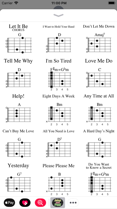 Perfect Don T Let Me Down Guitar Chords Image Collection - Basic ...