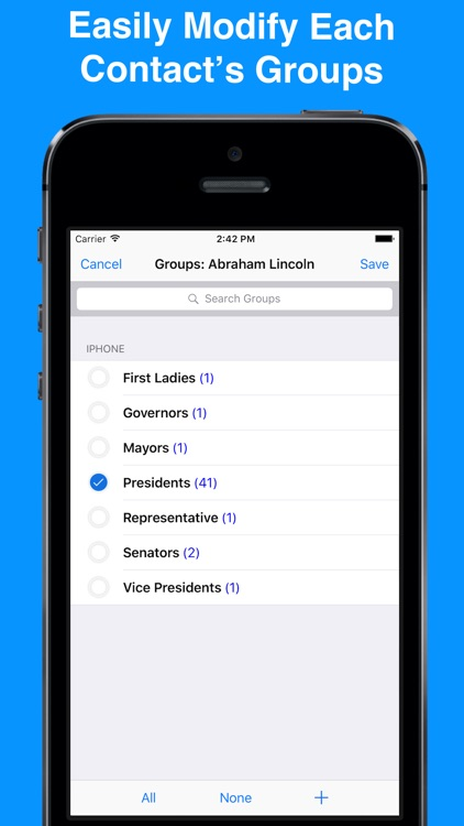 ABC Groups - Group Contacts screenshot-4