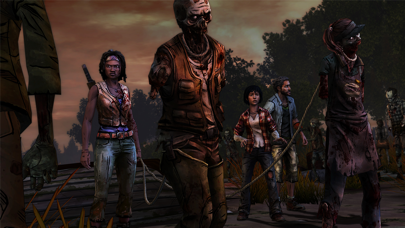 Screenshot from The Walking Dead: Michonne - A Telltale Miniseries