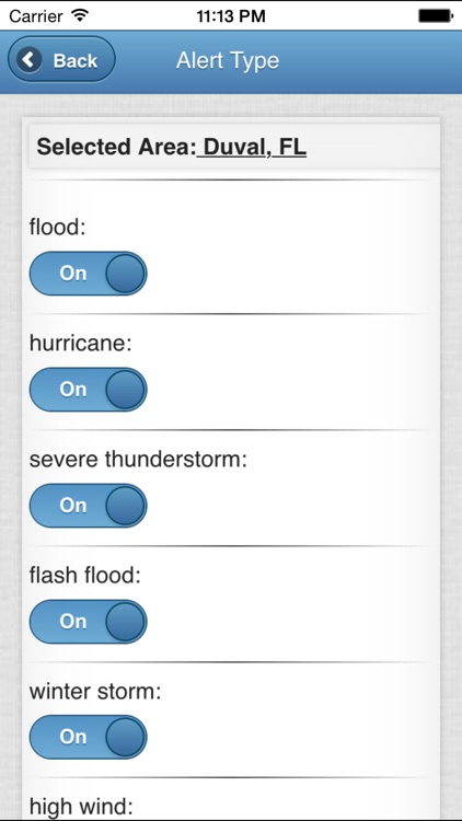 wxAlert Weather Alerts screenshot-4