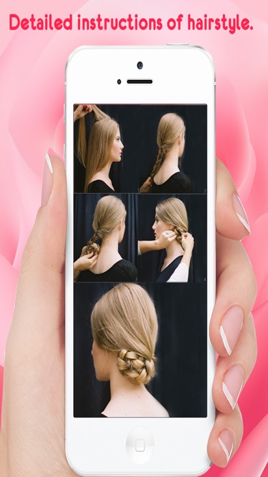 Hairstyle Steps For Girls screenshot four