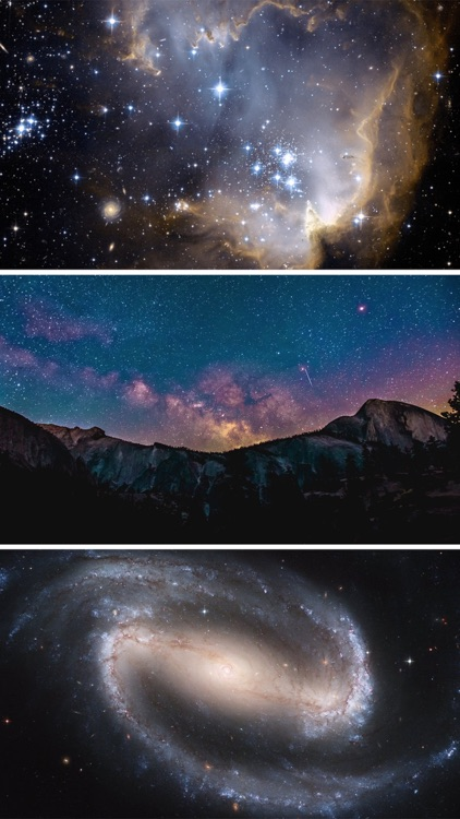 Galaxy Wallpapers HD - Amazing Space Pictures Free screenshot-3