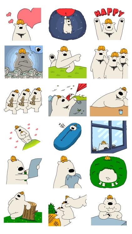 Happy Polar bear