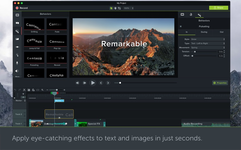 Camtasia 3 Screenshot