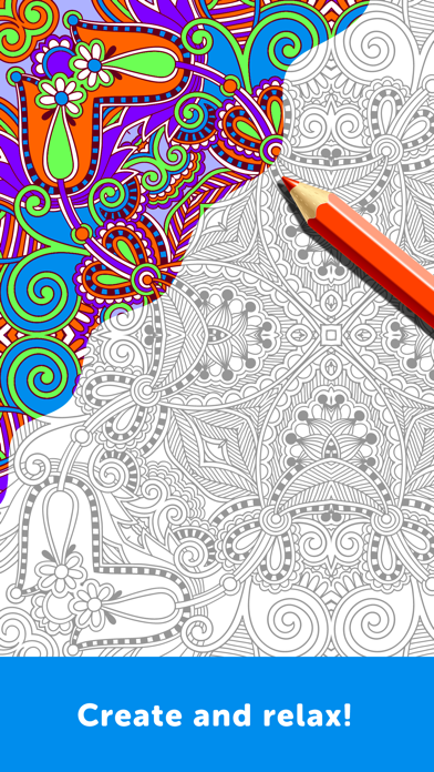 Adult Coloring Book - Coloring Book for Adultsのおすすめ画像2