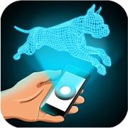 Hologram Dog 3D Simulator
