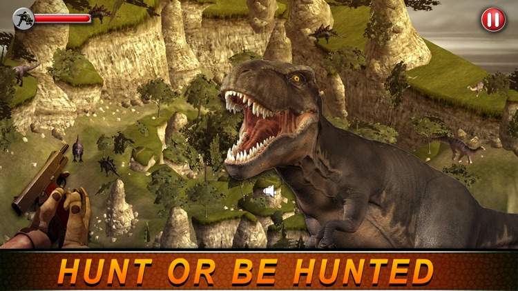 T-Rex Hunting Season 2016:Dino Hunter Survival Mission in Jurassic Island screenshot-2