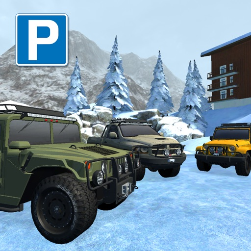Snow Truck Parking - Extreme Off-Road Winter Driving Simulator FREE