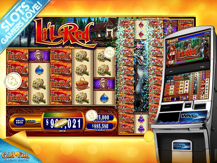 Gold fish slots casino hd by phantom efx for Fish casino slot