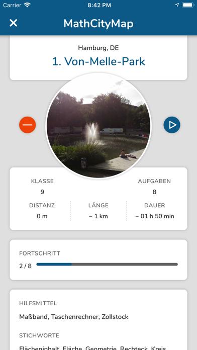 MathCityMap screenshot 3