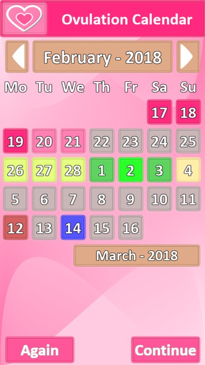 Ovulation Calendar screenshot-1