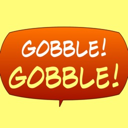 Gobble! Animal Noise Comic Bubbles