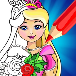 Coloring Book Game: Princess