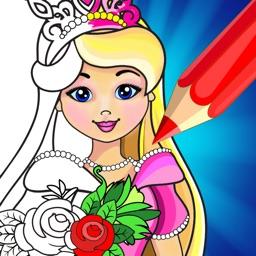 Coloring Book Game: Princess