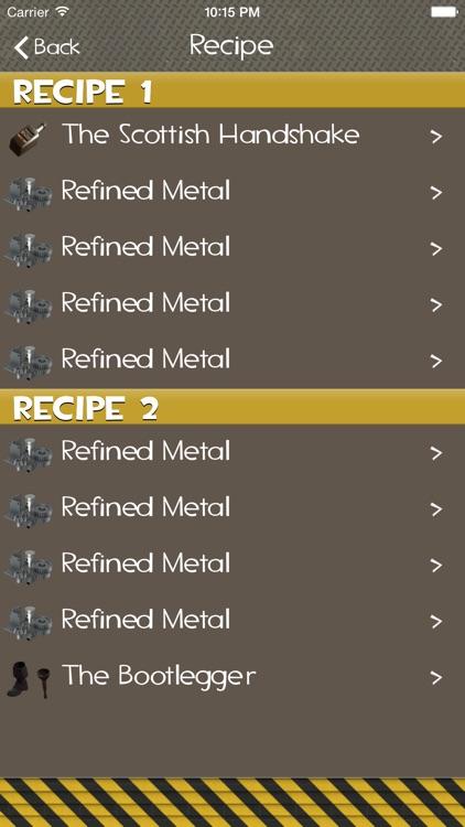 TF2 Recipes screenshot-4