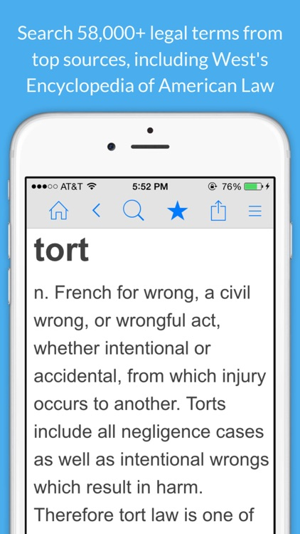 Legal Dictionary - Law Definitions and Thesaurus screenshot-0