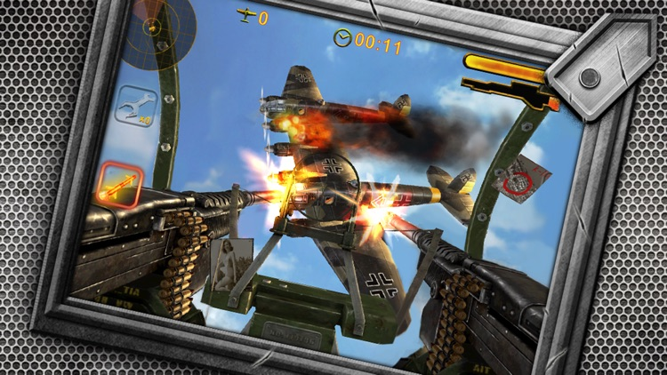 Turret Commander - shoot from B17 top machine gun screenshot-0