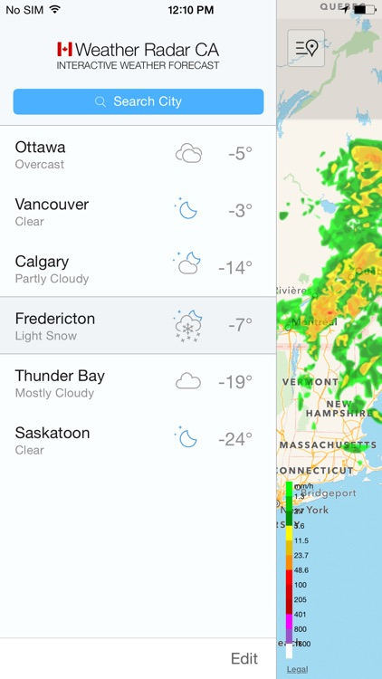 Weather Radar Canada